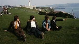 The Beatles On Plymouth Hoe